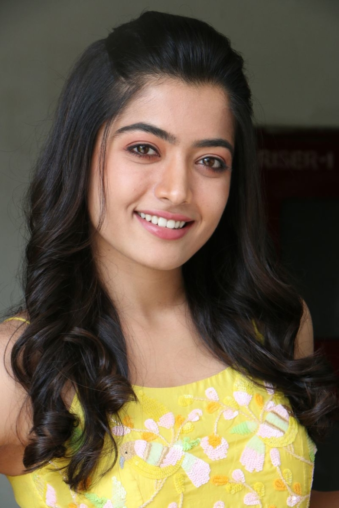 Rashmika Mandanna Stills At Bheeshma Movie Interview South Indian Actress